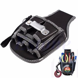Wholesale Electrician Kit - Wholesale-A96 Discount 9in1 Electrician Waist Pocket Belt Tool Pouch Bag Screwdriver Utility Kit Holder