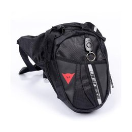 Wholesale motorcycle waist bags - NEW Nylon Waist Pack Leg Bag Waterproof Waistpack Motorcycle Funny Drop Belt Pouch Fanny Pack Waist Belt Packs For Men