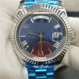 Wholesale Men Watches Sapphire Glass - Big sell luxury brand men automatic day date royal oaks luxury watches Stainless steel bezel sapphire glass Wristwatches