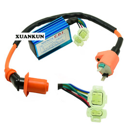 Wholesale gy6 cdi - GY6 50 125 150cc Modified Electronic Igniter AC Infinite Speed CDI