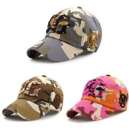 Wholesale Women Camouflage Cap - baseball cap hip hop snapbacks hats unisex sports adjustable bone women and men casual casquette camouflage letter embroidered caps