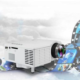 Wholesale Data Show - Wholesale-Hot UC28 LED Digital Video Game Projector Theater Home Multimedia Player Input AV VGA USB SD HDMI Data Show Mini Proyector