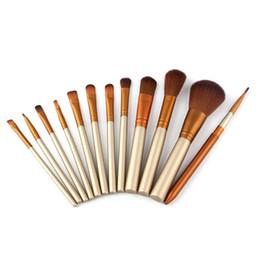 Outils de fer de marque en Ligne-N3 Pinceaux De Maquillage 12 pcs Ensembles De Pinceaux Professionnels Marques Make Up Outils De Beauté De Poudre De Fond