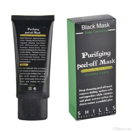 Wholesale Mask Cleansing Remove - ( In Stock ) - Black Suction Mask Anti-Aging 50ml SHILLS Deep Cleansing purifying peel off Black face mask Remove blackhead Peel Masks tarte