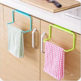 Wholesale Hanging Racks - Over Door Tea Towel Rack Bar Hanging Holder Rail Organizer Bathroom Kitchen Cabinet Cupboard Hanger Shelf Perfect Kitchen Storage