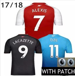 Wholesale Premier League Jersey Adult Thai Quality WILSHERE ALEXIS GIBBS WALCOTT CHAMBERS soccer jersey football jerseys shirts