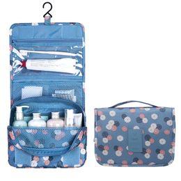 Wholesale Toilet Case Bag - Wholesale- Brand Women Toilet Bag Make Up Bag Cosmetic Case Multifunctional Travel Portable Case Hanging Waterproof Zipper Make Up Bag