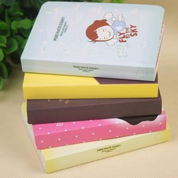 Wholesale Girls Journal - Wholesale- Super Thick Kawai Little Girl Multifunctional Mini Notebook Diary Notepad Palm Books Agenda Week Plan Day Planner Journal Record