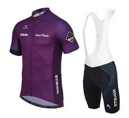 Wholesale Green Riding Jersey - Gran Fondo Team 2017 Strava en Radfahren jersey Januar Sommer Ropa ciclismo professional riding clothes XS-4XL free shipping