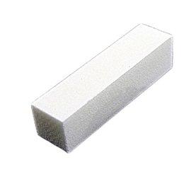 Wholesale Nail File White Buffer - Wholesale- 1 PC! 2017 Fashion Nail File Block Pedicure Manicure Buffing Sanding Polish White Nail Art Buffer Files 96x25x25mm