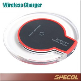 Wholesale Qi Wireless Power - Qi Wireless Charger For iPhone X 8 Power Pad Fast Charging Efficiency for Samsung S8 S6 S7 Edge HTC Nokia with Retail Box
