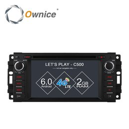 Wholesale Gps For Dodge - Ownice C500 Android 6.0 4 Core Car DVD GPS Navi Radio For Jeep Grand Cherokee Compass Commander Wrangler DODGE Caliber 4G LTE