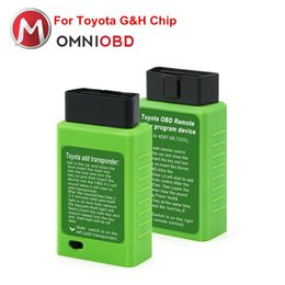 Wholesale Key Programmer For Remotes - Promotion For Toyota G and H Chip Vehicle OBD Remote Key Programming Device For Toyota G and H OBD Remote Key Programmer