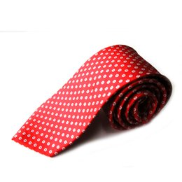 Wholesale Music Neck Ties - 2017 factory direct wholesale fashion accessories fashion dress business 8 cm knitting printing point 100% polyester tie