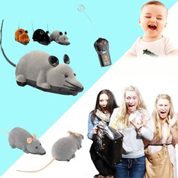 Wholesale Toy Electronic Wireless - Wireless ARC Mouse Remote Control Rat Electronic Toy For Cats Dogs Pets Gift
