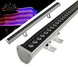 Barras de lavagem led ao ar livre on-line-18 W 36 W LED wall washer RGB 36 W parede de lavagem CONDUZIU a lâmpada de inundação de coloração de luz bar luzes barlight LEVOU holofote paisagem de iluminação ao ar livre 2020