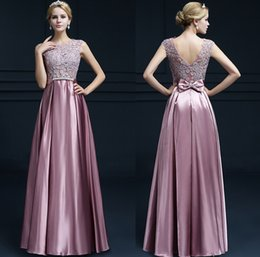 Wholesale Long Dresse - Burgundy Sexy Prom Dresse 2017 SSYFashion Double-shoulder Long Lace Pink Formal Evening Dresses Custom Plus Size Bridal Marrige Party Gowns