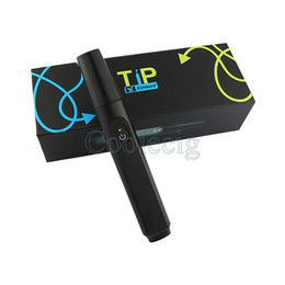 Wholesale New Styles Pens - 2017 New arrival TIP stick style vapor pens ceramic coil wax dabber vaporizer pen starter kit
