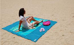 Wholesale Hand Sanding Pad - Sand Free Beach Mat Camping Outdoor Picnic Mattress Beach Mats Summer Beach Pads 200*150CM