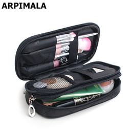 Wholesale Wholesale Clear Beauty Organizers - Wholesale- ARPIMALA Cosmetic Bags Makeup Bag Women Travel Organizer Professional Storage Brush Necessaries Make Up Case Beauty Toiletry Bag