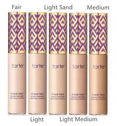 Wholesale Hot Mix Tapes - Hot selling 2017 New tarte Shape Tape Concealer tarte contour 6 colors 10ml free shipping DHL