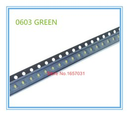Wholesale White Super Bright Diode - Wholesale- 100pcs 0603 Green color SMD SMT Super Bright lamp LED lights light-emitting diodes High quality