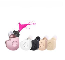 Mini fone bluetooth online-Negro Universal S560 Auriculares Bluetooth Auriculares Inalámbricos Mini Auriculares Inalámbricos Fone de ouvido para iPhone 6 6s 6s más xiaomi
