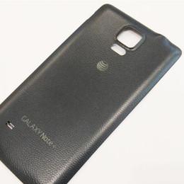 2019 sony t Pour Samsung Galaxy Note 4 N910A ATT Original Nouvelle Batterie Boîtier De Porte Boîtier Noir Blanc Couleur sony t pas cher