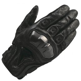 Wholesale Motorcycle Carbon Fibre - Wholesale- GPCROSS Motorcycle Gloves Real Genuine Leather Glove Motorbike Carbon Fibre Men Racing Motocicleta guantes moto Guantes Luvas