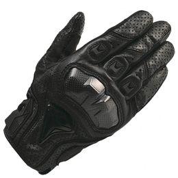 Wholesale Real Motorbikes - Wholesale- GPCROSS Motorcycle Gloves Real Genuine Leather Glove Motorbike Carbon Fibre Men Racing Motocicleta guantes moto Guantes Luvas