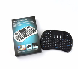 Wholesale Wireless Keyboard For Phone - 2.4G Air Mouse i8 Wireless Keyboard Remote Control Touchpad For android tv box, I-pad, Smart phone