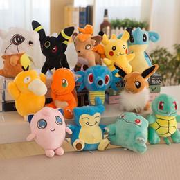 charmander spielzeug Rabatt 20-23 cm Figur Gefüllt Plus Puppen Spielzeug Neue Pikachu Squirtle Cartoon Charmander Spielzeug Weihnachtsgeschenke Für Kinder PX-T10