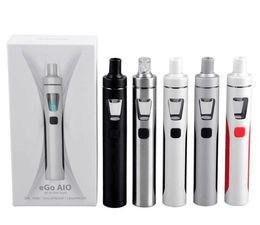 Wholesale Ego Dhl Kit - Joyetech eGo AIO Kit With 2.0ml Capacity 1500mAh Battery BF-SS316 coil joytech ego aio starter kits DHL free
