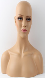 Wholesale Wig Mannequin Heads For Sale - Female Realistic Mannequin Head Sale For Wig Hast And Jewelry Display