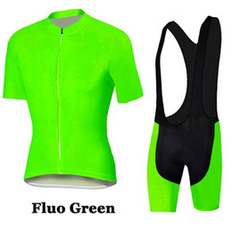 Argentina Fluo Green ciclismo jersey mangas cortas ropa ciclismo hombre maillot ciclismo mtb bicicleta ciclismo ropa bicicleta deporte 3D Gel Pad supplier mtb 3d padded shorts Suministro