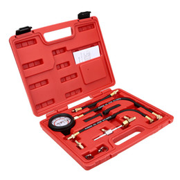 Wholesale Fuel Vehicles - TU - 113 Fuel Injection Pump Pressure Test Kit Fuel-pressure Indicator Vehicle Repairing Tool Compact Tool Universal Type