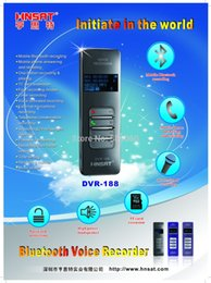 Wholesale Dvr Mobile Phone - Wholesale-Professinal bluetooth mobile phone digital voice recorder Hnsat DVR-188