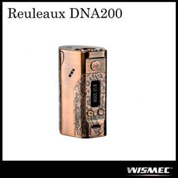 Wholesale Vw Specials - Authentic Wismec Reuleaux DNA 200W TC Mod Powered By DNA 200 VW Classic Bronze Special Edition 100% Original