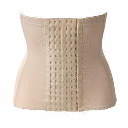 Wholesale Bones Weight - Wholesale- 6Hooks Women Waist Trainer Belt Breathable Waist Cinchers 4 Steel Bone Waist Shapers Slim Clip Girdle Lady Loss Weight Keep Fit