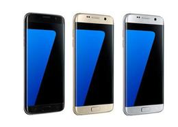 Wholesale Camera False - Goophone s7 edge smartphone phone goophone 5.5 inch 64bit MTK6580 Quad core cell phones 1gb RAM 4gb ROM false 4g lte free dhl