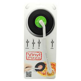 Mode Pizza Cutter Record Forme Cuisine Outil De Mode ABS Lame Cadeau Pour Pizza Gâteau Cuisine Accessoires ? partir de fabricateur