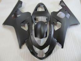 Wholesale Matte Gsxr K4 - Free customize New ABS fairing kit for SUZUKI GSXR600 GSXR750 2004 2005 K4 GSXR 600 750 04 05 fairings set all black matte