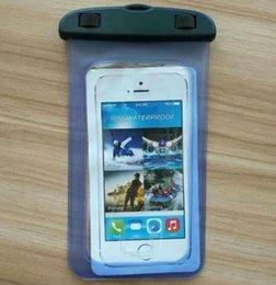 Wholesale Cheap Waterproof Iphone Case - 100pcs Wholesale Cheap Universal Summer Fingerprint Waterproof Bag Case Pouch for iphone 7 Plus Samsung HTC Xiaomi