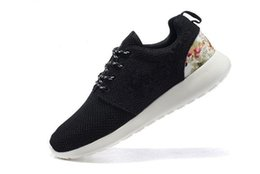 Wholesale flower boxes for shipping - London Flowers Printing Running Shoes for Men and Women 2017 New Casual Walking Shoe Mens Trainer Shoes Boots Size 36-44 Free Drop Shipping