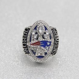 Wholesale England Souvenir - Wholesale BRADY 2016 New England Patriot Super Bowl Championship Ring souvenir Sport Fan Men Gift size8-13