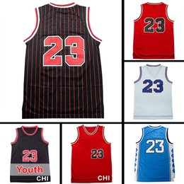 Wholesale 2017 hot cakes Adult maler M J Basketball jersey Cheap high quality Youth Kid M J jersey Embroidery Logos