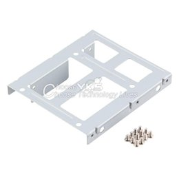 """Wholesale Hard Disk Rack - Wholesale- 10pcs 2-Bay 2.5"""" SSD HDD Hard Disk to 3.5"""" Drive Bay Converter Adapter Rack Bracket Hot Search"""