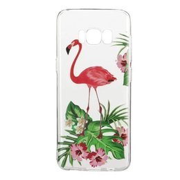 Wholesale Tiger Galaxy - Feather Watermelon TPU Soft Case For Samsung Galaxy S8 Plus 2017 A3 A5 J3 J5 J7 Tiger Cat Panda Fruit Girl Flower Mandala Phone Cover 20pcs