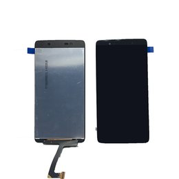 Wholesale Blackberry Parts Lcd - For Blackberry dtek50 LCD Display good quality Black Color Touch Screen Digitizer Assembly with tools replacement parts