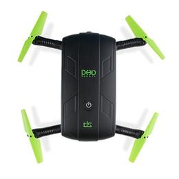 quadcopters rc Desconto Jjrc ddr dj selfie fpv zangão com câmera hd dobrável rc drones de bolso helicóptero de controle de telefone mini dron vs jjrc h37 523 quadcopter